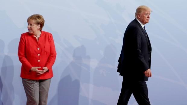 La crisis del Covid hunde a Trump como líder mundial y eleva a Merkel