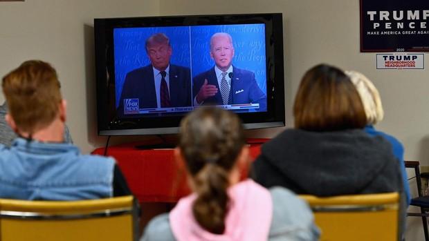 El debate presidencial de EE.UU. pierde 16 millones de telespectadores frente a 2016