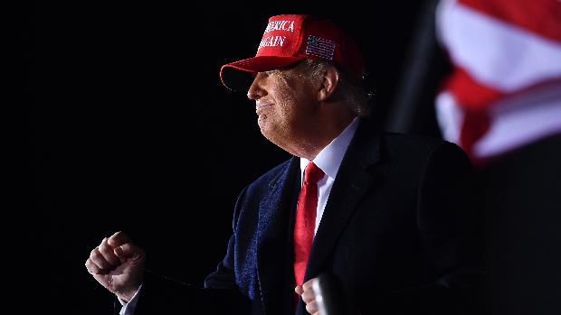 Trump alerta contra la «izquierda radical» en estados clave del medio oeste
