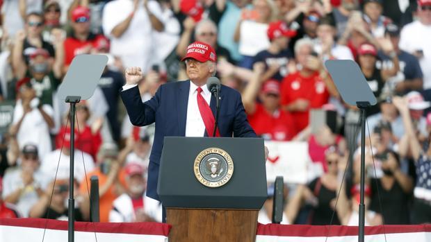 El masivo voto por adelantado alarma a la campaña de Trump