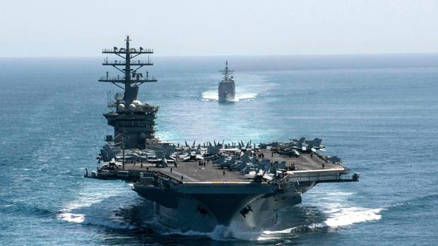 EE.UU. retira un portaaviones de Oriente Medio en plenas tensiones con Irán