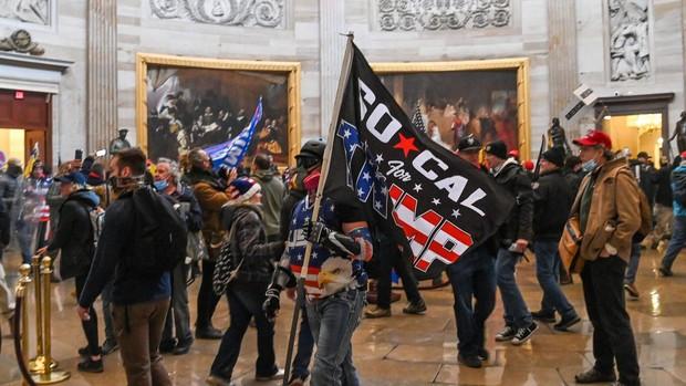 Asalto al Capitolio en Estados Unidos, en directo