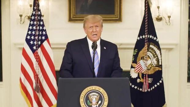 Trump admite su derrota y condena el «atroz» asalto al Capitolio