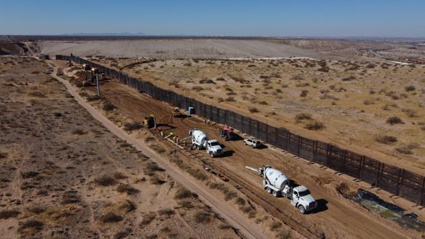 A pesar del muro de Trump el flujo de inmigrantes vuelve a subir
