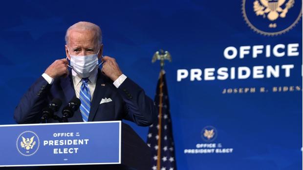 Biden anuncia un paquete de ayudas contra la crisis del coronavirus de 1,9 mil millones de dólares