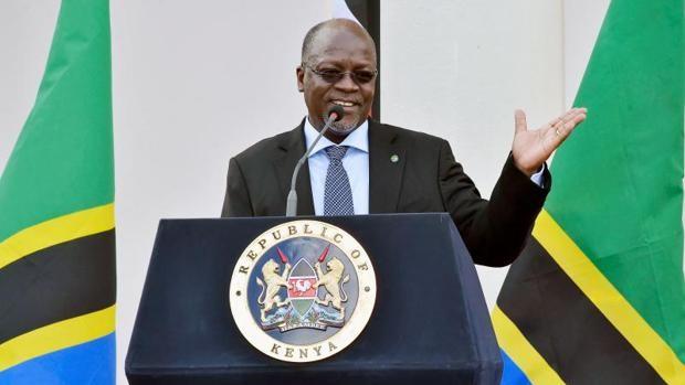 El difunto presidente de Tanzania, John Magufuli