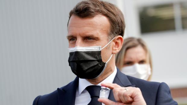 Macron entra en campaña electoral contra el islamismo, la violencia y la inseguridad nacional