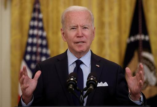 Joe Biden, in a recent appearance at the White House