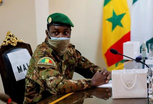 Colonel Assimi Goita, current strongman of Mali