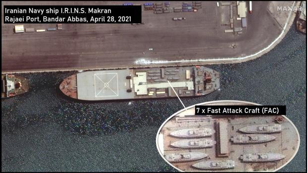 Irán desafía a Biden con el envío de armamento para Venezuela