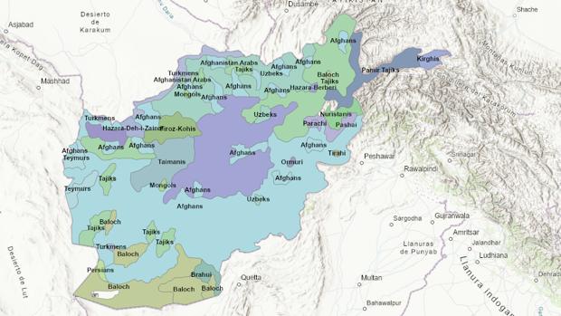 Las etnias de Afganistán
