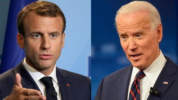 Macron pedirá «explicaciones» a Biden esta semana sobre el acuerdo Aukus
