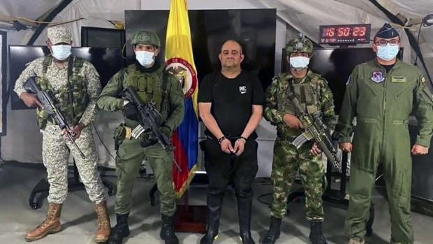 Detienen al narcotraficante más buscado de Colombia después de Pablo Escobar