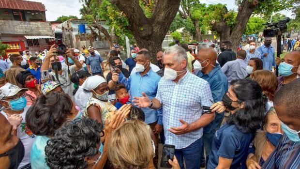 Díaz-Canel, sobre marcha del 15-N en Cuba: «Es un desafío a las autoridades, una provocación»