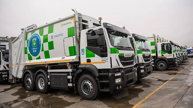 109 camiones de Gas Natural Comprimido para Madrid