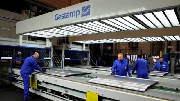 Factoría de Gestamp, una de las seis grandes compañías del sector de componentes de automoción