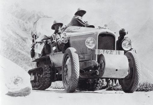 Los autocadenas Citroën protagonistas de las legendarias expedicones Citroën