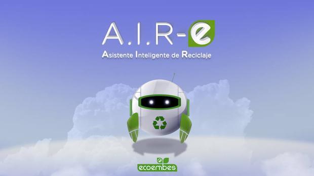 Nace A.I.R-E, el primer asistente virtual de reciclaje