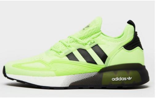 adidas boost verde negro