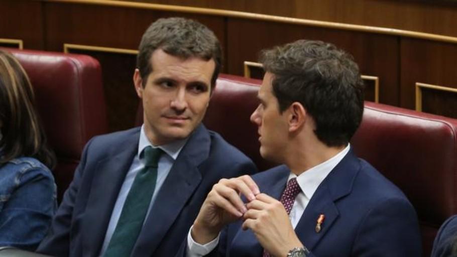 PP y Cs, necesarios en cataluña