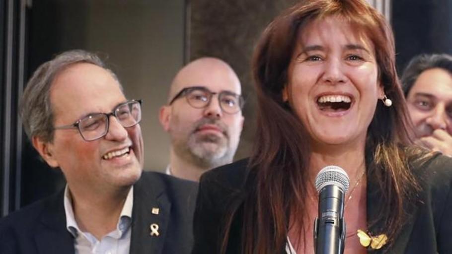 Torra se va, Puigdemont se queda