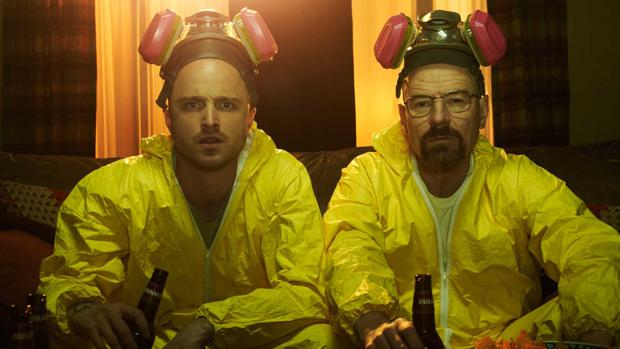 Jesse Pickman y Walter White en «Breaking Bad»