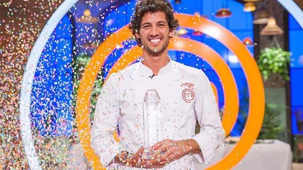 Jorge, ganador de «MasterChef»