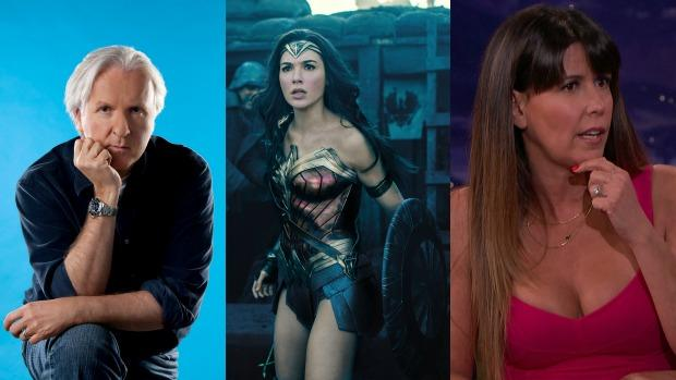 James Cameron, Gal Gadot y Patty Jenkins