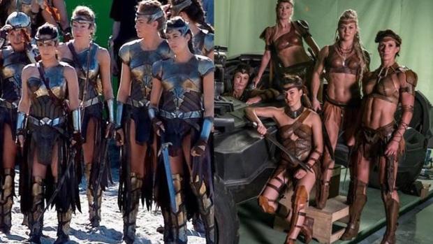 La vestimenta de las Amazonas en «Wonder Woman», comparada con la de «Liga de la Justicia»