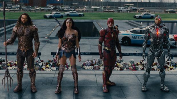 «Liga de la Justicia», en cartelera de los cines desde este viernes
