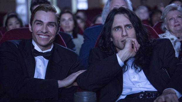 Dave y James Franco en «The disaster artist»