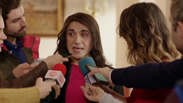 José Mota como Inés Arrimadas