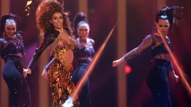 Eleni Fouriera, de Chipre, se ha reivindicado como una de las favoritas para ganar Eurovisión 2018