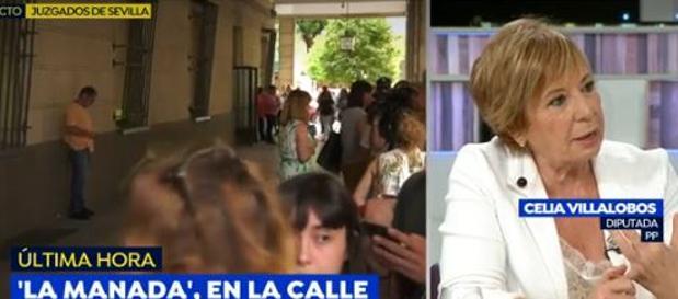 Celia Villalobos en Espejo Público