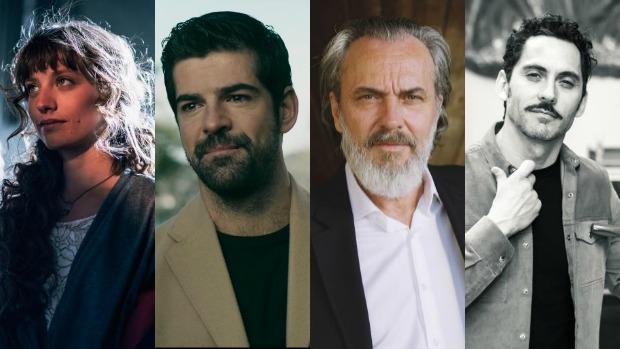 Michelle Jenner, Miguel Ángel Muñoz, José Coronado y Paco León regresan a la televisión española