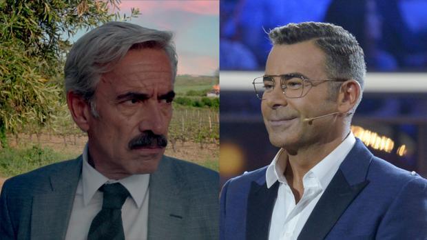 Antonio Alcántara (Imanol Arias) y Jorge Javier Vázquez