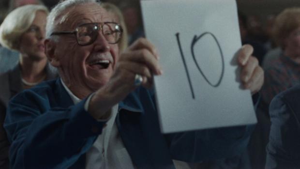 Stan Lee en Iron Man 3, una de sus últimas apariciones en cine