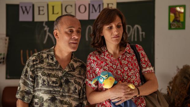 Jesús (Javier Gutiérrez) y Nuria (Malena Alterio) se convierton en padres en la segunda entrega de «Vergüenza»