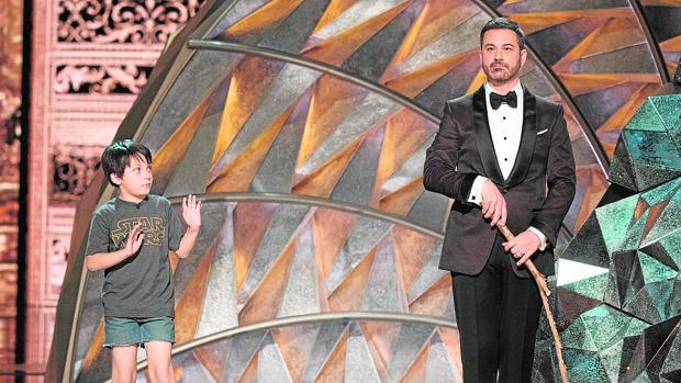El presentador de la gala Jimmy Kimmel de la 90ª edición de los Oscar
