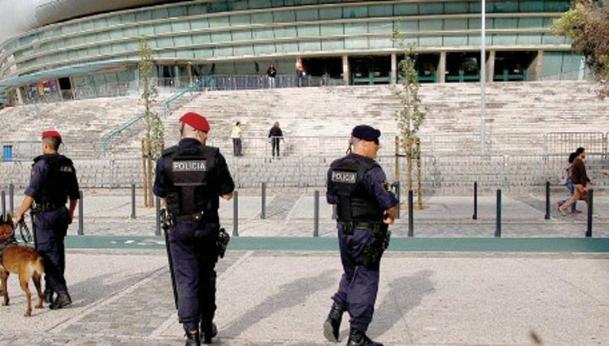 Imagen del dispositivo seguridad para Eurovisión en Lisboa