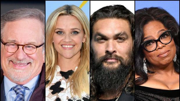 Steven Spielberg, Reese Witherspoon, Jason Momoa y Oprah Winfrey formarán parte de Apple TV+