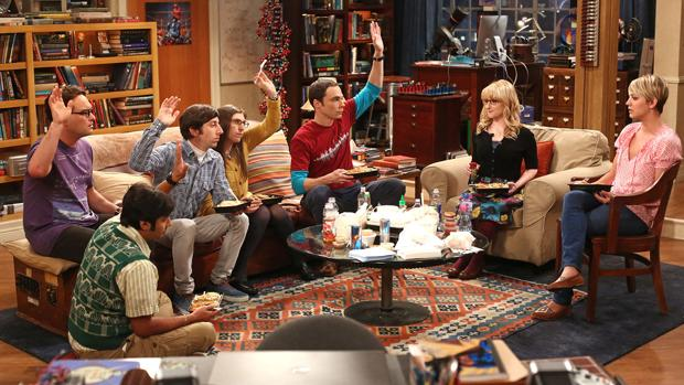 Los protagonistas de «The Big Bang Theory»