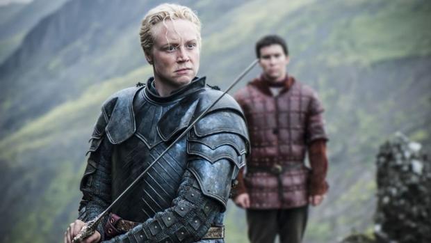 Gwendoline Christie es Brienne en «Juego de Tronos»