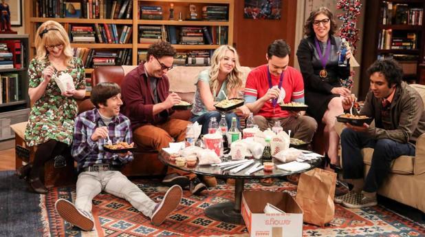 Fotograma de la última escensa de «The Big Bang Theory»