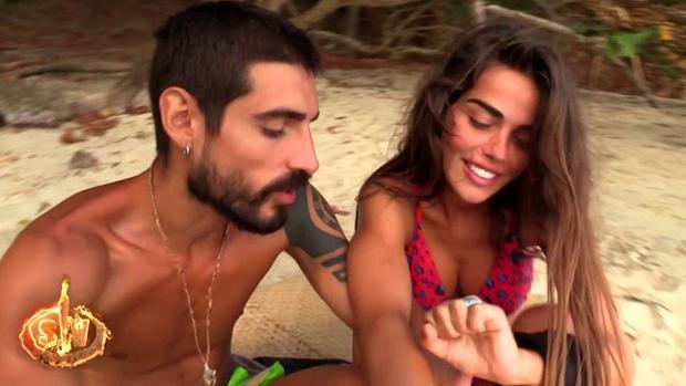 Fabio y Violeta, en «Supervivientes»