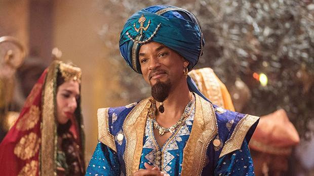 Aladdin, con Will Smith, es una de las propuestas para la fiesta del cine 2019