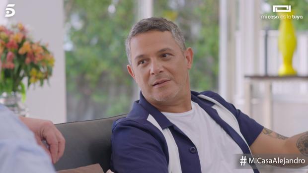 Alejandro Sanz, este viernes en «Mi casa es la tuya»