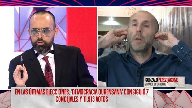 Risto Mejide y Gonzalo Pérez Jácome en «Todo es mentira»