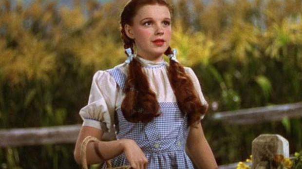 Judy Garland en «El Mago de Oz»
