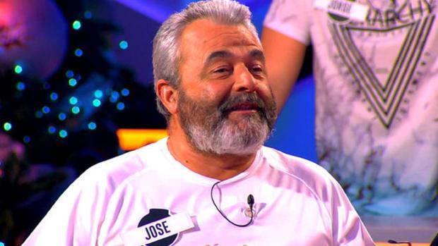 José Pinto, en el plató de «¡Boom!»